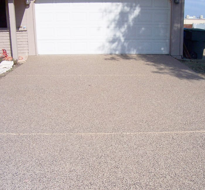 Epoxy Finish Front Driveway Sledge Concrete Coatings