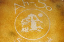 Acid Stain – Floor Decal at Ah-So Restaurant