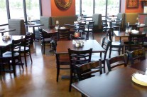 Acid Stain – Concrete Restaurant Floor