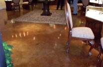 Acid Stain – Jewelry Store Concrete Flooring