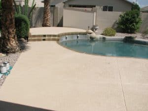 Cool Deck - Backyard Pool Plaster