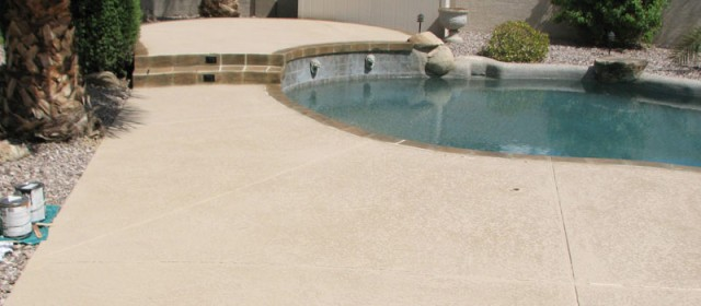 Cool Deck – Backyard Pool Plaster