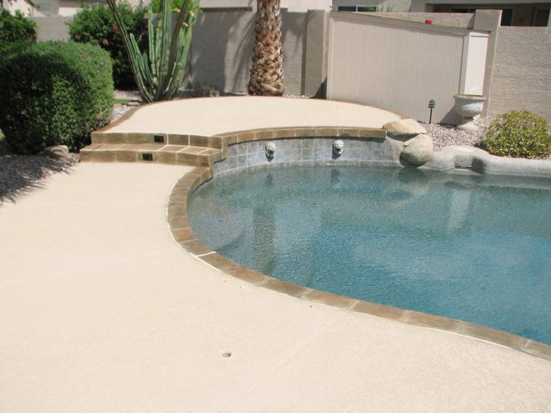 Cool Deck Projects In Phoenix Az Sledge Concrete Coatings