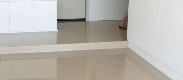 Epoxy Finish – Light Brown Floor