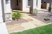 Faux Flagstone – Frontyard Footpath