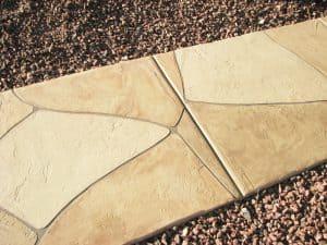 Faux Flagstone - Landscaping Sidewalk