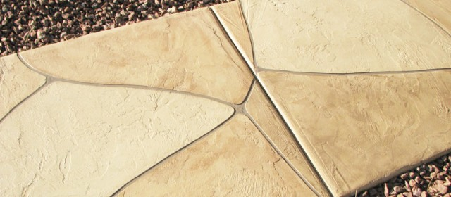 Faux Flagstone – Landscaping Sidewalk