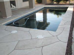 Faux Flagstone - Pool Decking