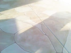 Faux Flagstone - Rounded Edge Patio
