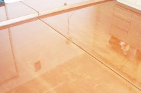 Metallic Finish – Copper Garage Flooring