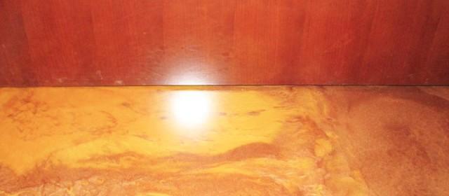 Metallic Finish – Office Flooring