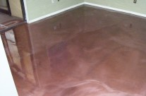 Metallic Finish – Residential Flooring