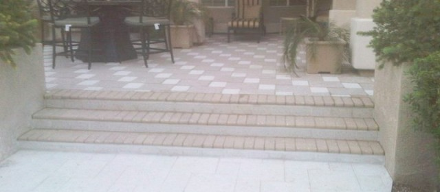 Pavers – Backyard Patio Walkway