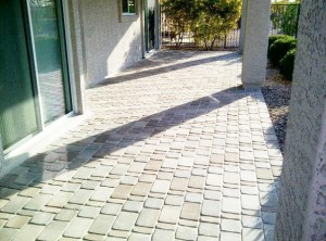Pavers - Covered Patio