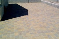 Pavers – Large Backyard Patio