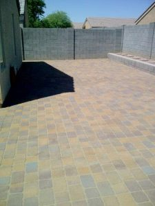 Pavers - Large Backyard Patio