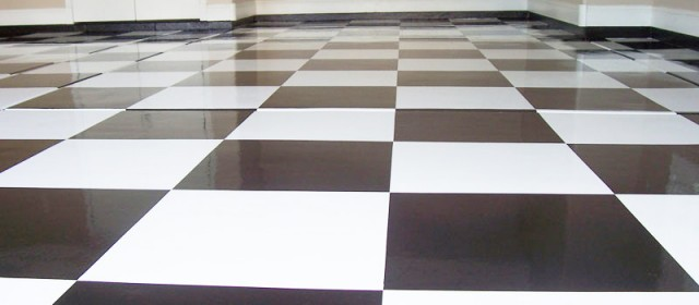 Specialty Floors – Checkered Garage