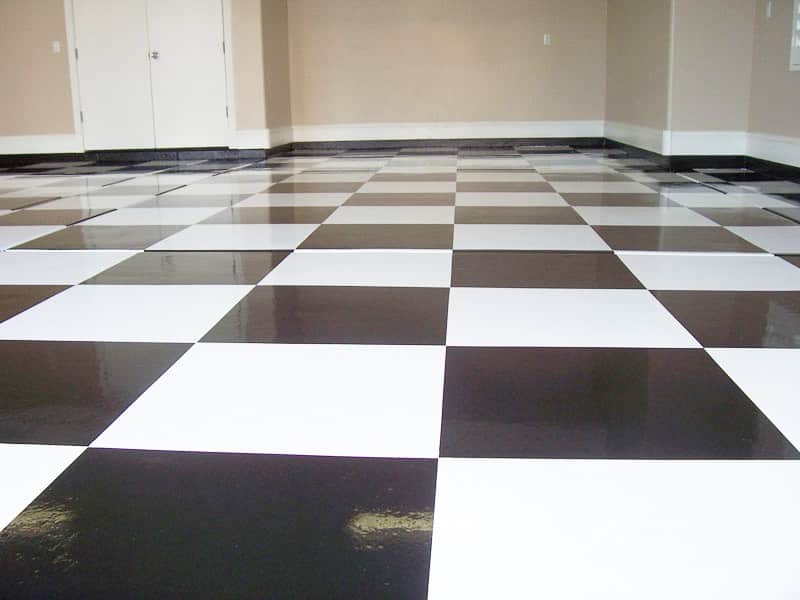 Specialty Floors Checkered Garage Sledge Concrete Coatings