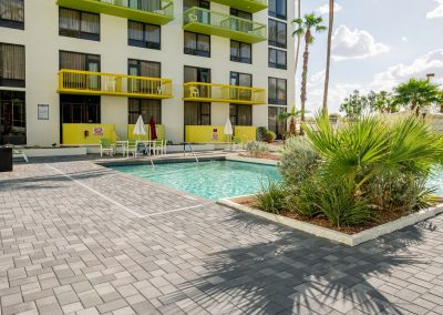 Holiday Inn Pool Deck Paving Project