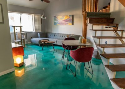 Epoxy Garage Floor Coating, Sledge Concrete Coatings, Phoenix Arizona