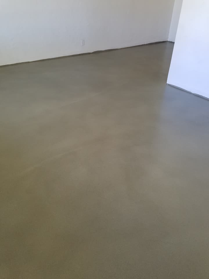Mapei Overlay Finishing Before Picture