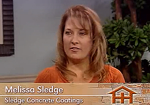 Home Hunters – Sledge Concrete Coatings – Melissa Sledge