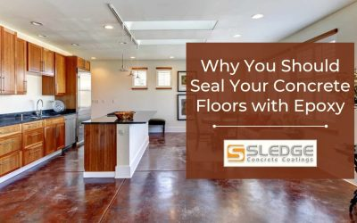 6 Reasons to Seal Your Concrete Floors with Epoxy