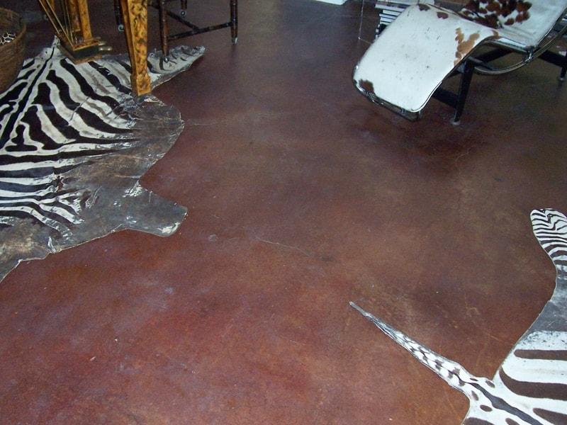 Acid Stain – Home Office Flooring