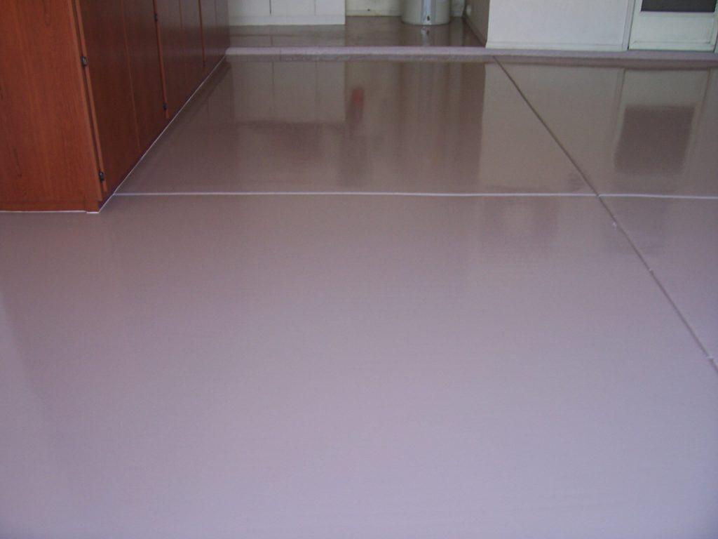 Solid Color Epoxy Concrete Floor Coatings In Phoenix