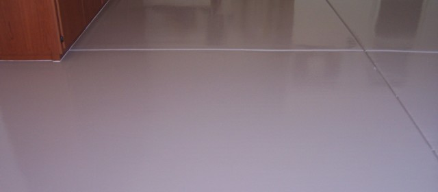Solid Color Epoxy Flooring Information