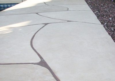 faux-flagstone-pathway-in-backyard