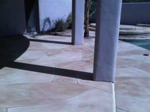 Faux Flagstone - Pool Installation