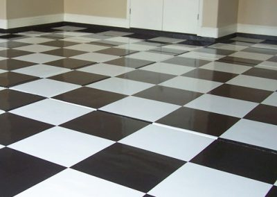 Specialty Flooring Image Checkered Floor for Portfolio Page