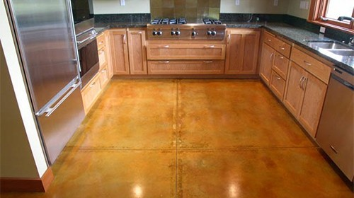 When Can Acid Stain Be Applied On Fresh Concrete?