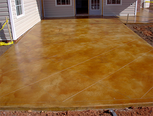acid-stained-patio