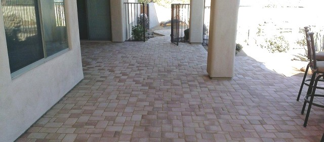 Paved Concrete Finish