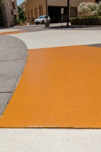 sledge concrete flooring project